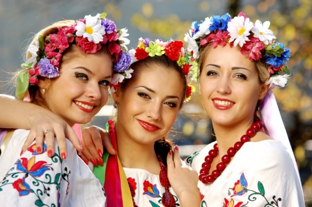 What are Ukrainian women different from Western