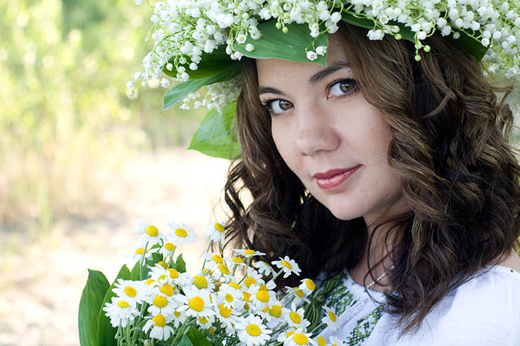 Women from Ukraine for a romantic relationship and marriage